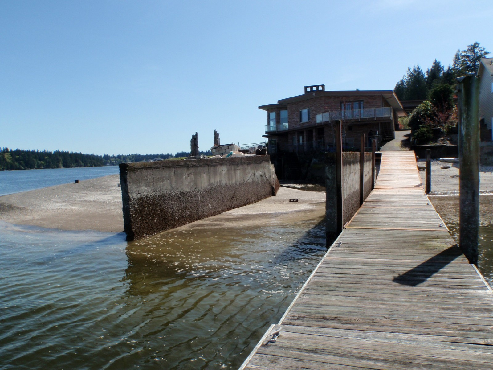 Collier Boat Ramp and Jetty Removal, Puget Sound, WA (2014)