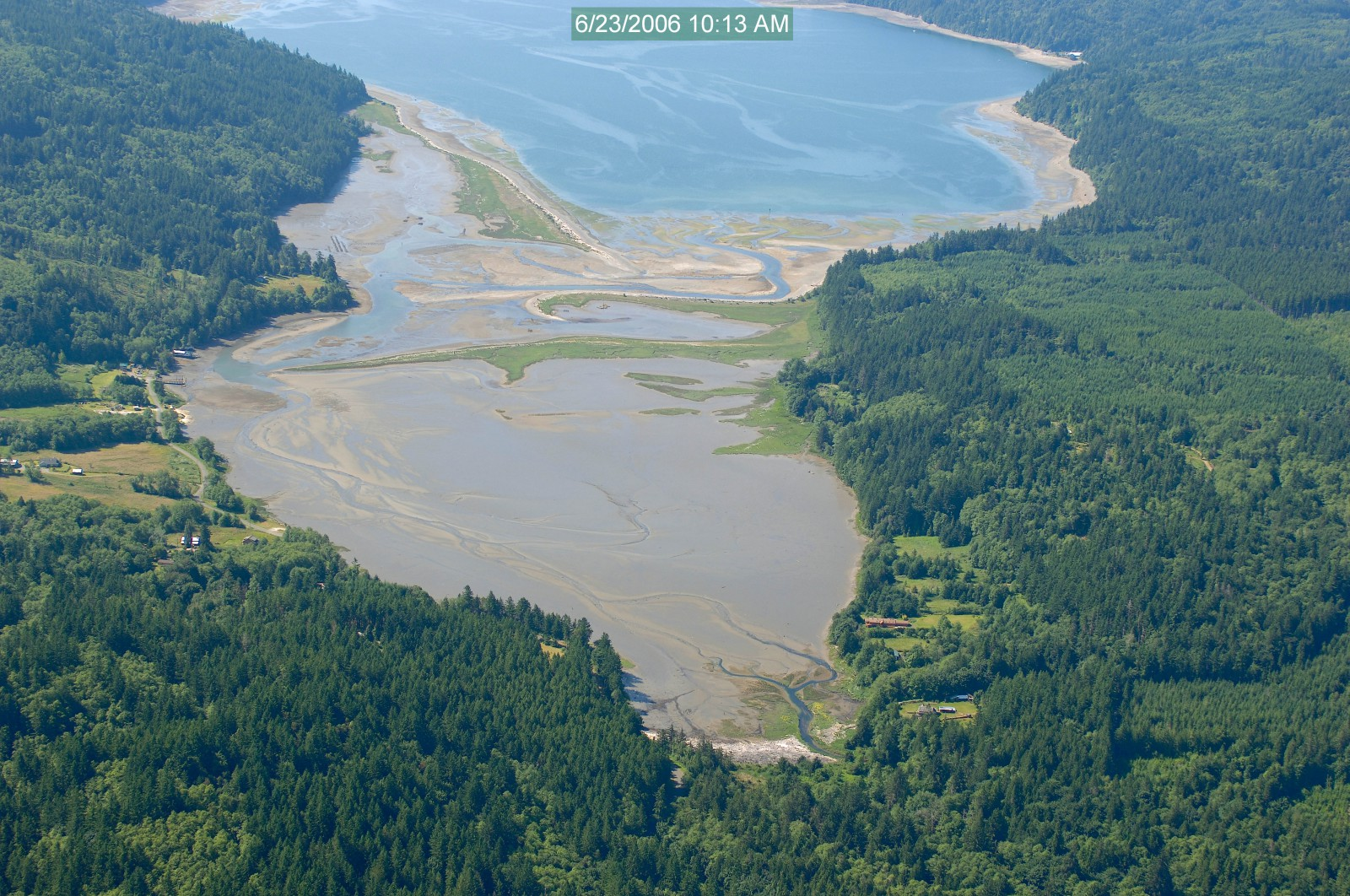 Restoration of salt marsh shoreline within the Dabob Bay Natural Area, Puget Sound, WA (2014)