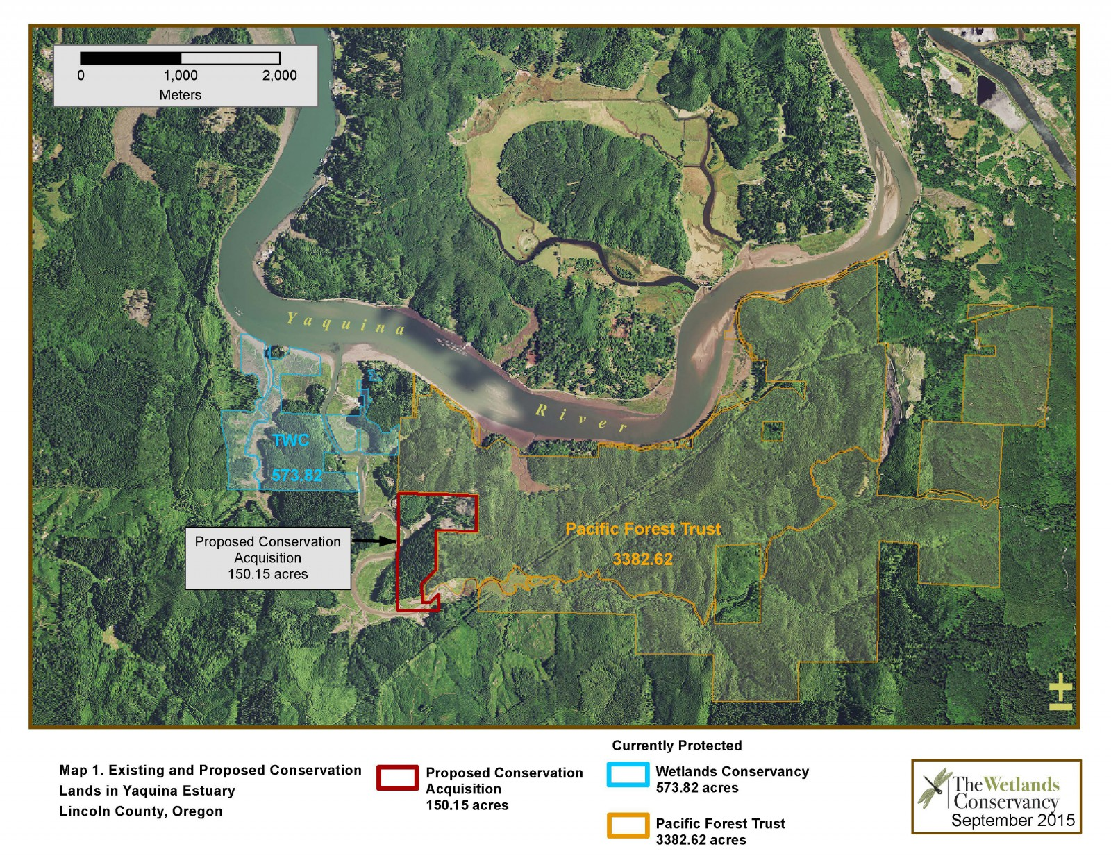 Poole Slough Acquisition, Assessment, and Planning, Yaquina estuary, OR  (2016)