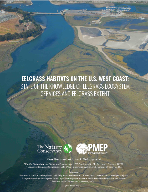 Eelgrass Habitats on the U.S. West Coast: State of the Knowledge of Eelgrass Ecosystem Services and Eelgrass Extent (2018)