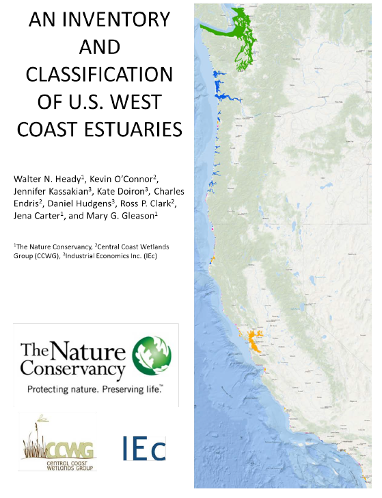 An Inventory and Classification of U.S. West Coast Estuaries (2014)